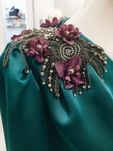 Detalle vestido invitada